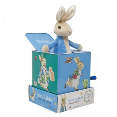 Beatrix Potter Peter Rabbit Jack the Box