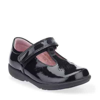 Start Rite Girls Daisy May Patent School Shoe