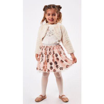 Ebita 4 Piece Girls Skirt Set Outfit 5294