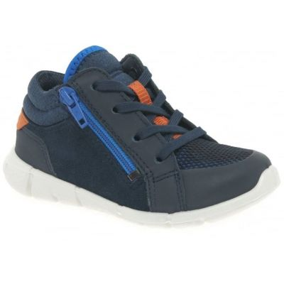 Ecco Boys Navy Boot 75452159755