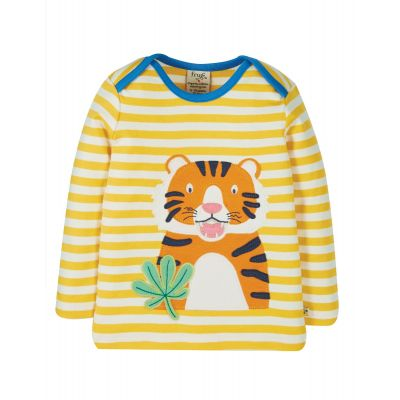 Frugi Bobby Tiger Stripe Top TTS106