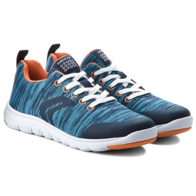 Geox Boys Blue Xunday Trainer J743NL 000ZI C4002