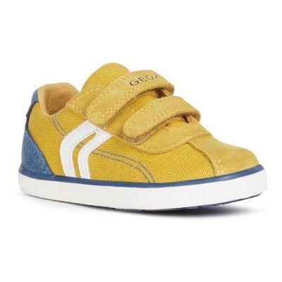 Geox Boys Kilwi Yellow Trainer B82A7G 01022 C2G4B