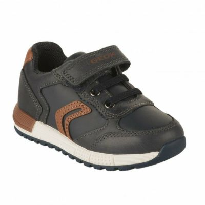 Geox Boys Navy Alben Shoe B943CB 0CL54 CF46N