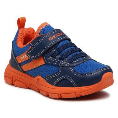 Geox Boys Torque Blue Trainer J157NB 014BU C0685