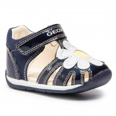 Geox Girls Navy Each Sandal B920AA 010HI C4211