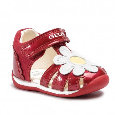 Geox Girls Red Each B920AA 010HI C0003