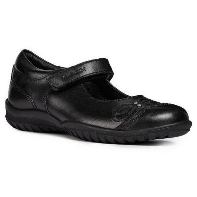 Geox Girls Shadow School Shoe J84A6C 00043 C9999