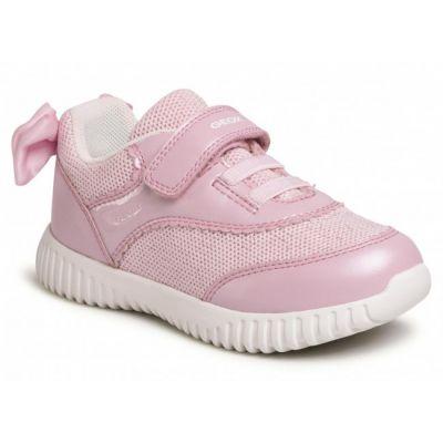 Geox Girls Waviness Pink Trainer B021XC 0NFEW C8004