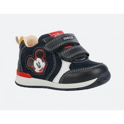 Geox Mickey Mouse Trainer B160RB 02285 C4211