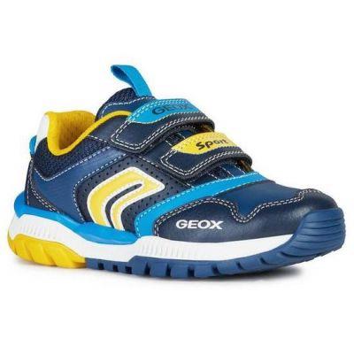 Geox Tuono Yellow Trainer J02AXA 054CE C0657