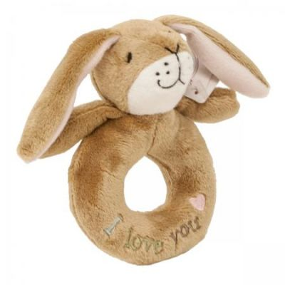 Guess How Much I Love You Rattle Ring