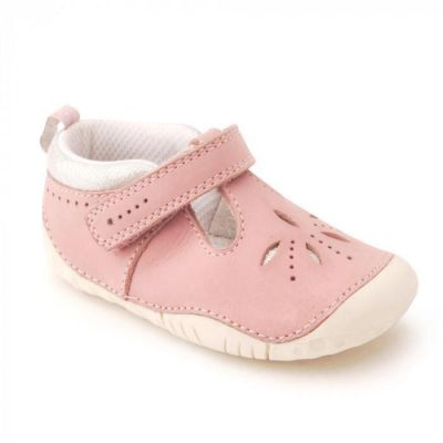 Start Rite Girls Pink Pre-Walker Polly