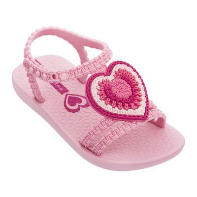 Ipanema Baby Girls Pink Heart Sandals