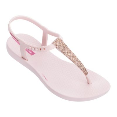 Ipanema Girls Pink Glitter Jelly Sandal