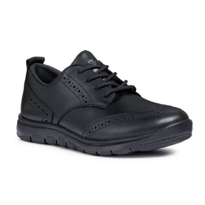Geox Boys Lace Up School Shoe J843NB 043BC C9999