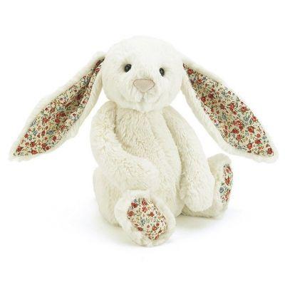 Jellycat Bashful Blossom Cream Medium Bunny