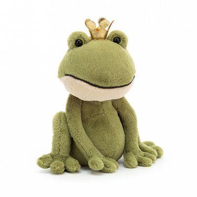 Jellycat Felipe Frog Prince Medium