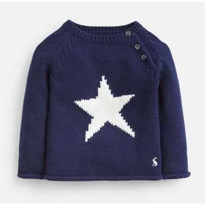Joules Baby Boys Beau Knitted Jumper