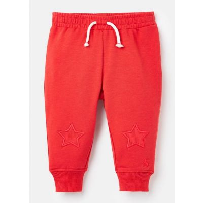 Joules Baby Boys Louis Red Joggers