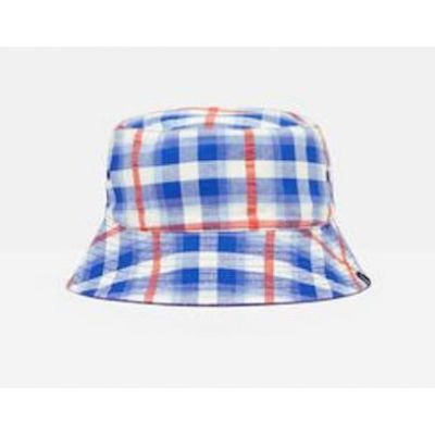 Joules Boys Brit Reversible Checked Hat