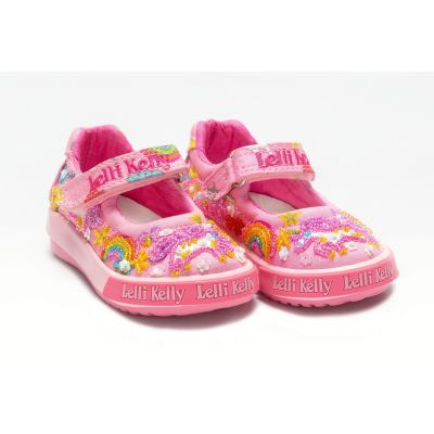 Lelli Kelly Baby Unicorn Pink Shoes LK9000