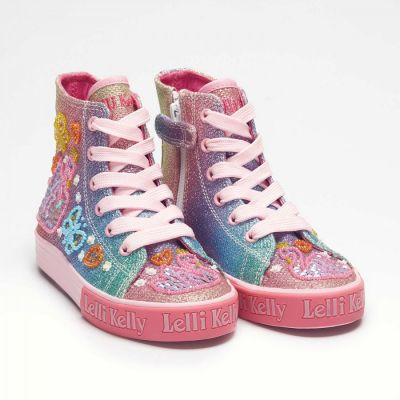 Lelli Kelly LK1092 Swan Glitter Boot