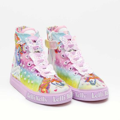Lelli Kelly Lilac Unicorn Boot LK9099