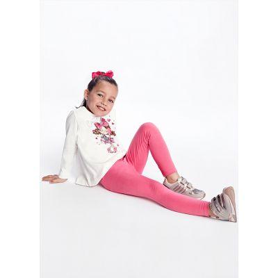 Mayoral Girls Pink 2 Piece Legging Set 4746
