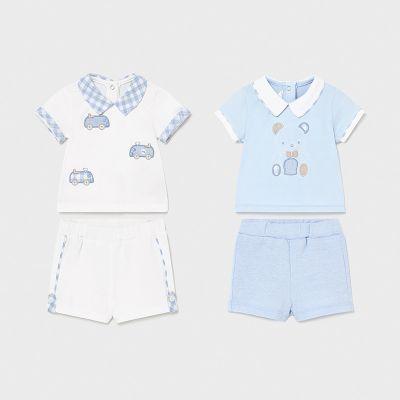 Mayoral Baby Boys 4 Piece Short Set 1642