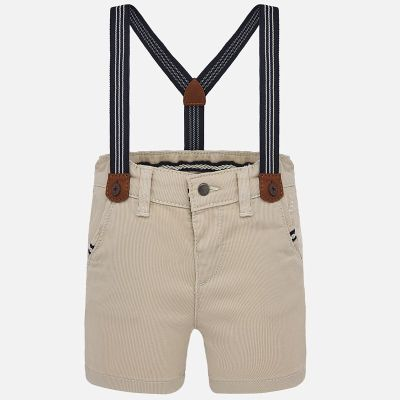 Mayoral Baby Boys Beige Shorts 1283