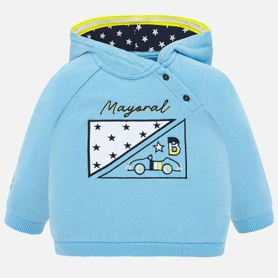 Mayoral Baby Boys Blue Hoodie 1452