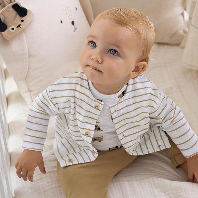 Mayoral Baby Boys Caramel Tracksuit Set 1818