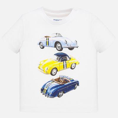 Mayoral Baby Boys Cars T-Shirt 1039