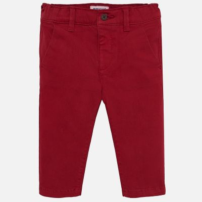 Mayoral Baby Boys Red Trousers 521