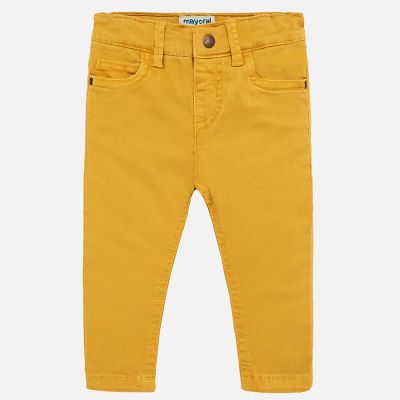 Mayoral Baby Boys Mustard Jeans 563