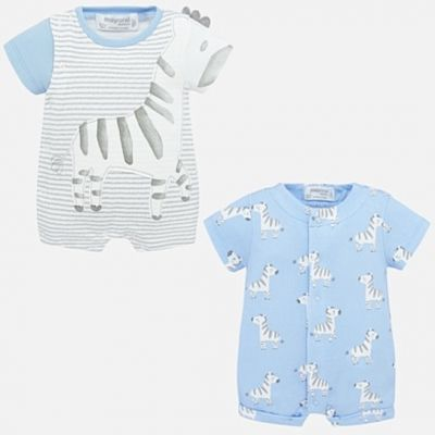 Mayoral Baby Boys Zebra Duo Set 1776