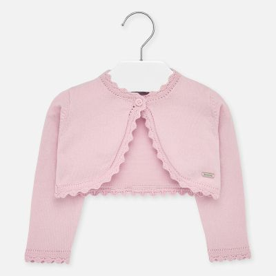Mayoral Baby Girls Pink Bolero Cardigan 306