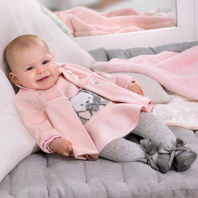 Mayoral Baby Pink Coat 2466