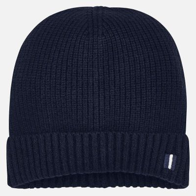 Mayoral Boys Navy Beanie Hat 10704
