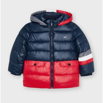Mayoral Boys Red Padded Coat 4413
