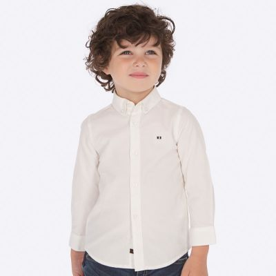 Mayoral Boys White Shirt 142