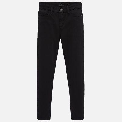 Mayoral Older Boys Black Trousers 582