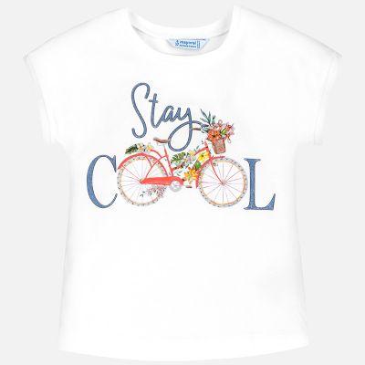 Mayoral Older Girls Bicycle Top 6015