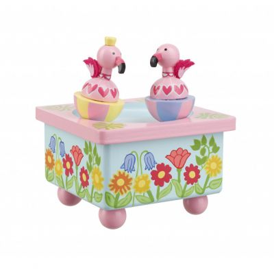 Orange Tree Toys Flamingo Music Box