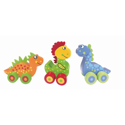 Orange Tree Toys First Dinosaur Vehicles