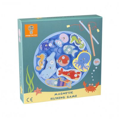 Orange Tree Toys Magnetic Fishing Game