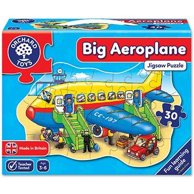Orchard Toys Big Aeroplane Jigsaw