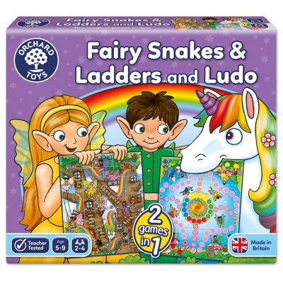 Orchard Toys Fairy Snakes And Ladders