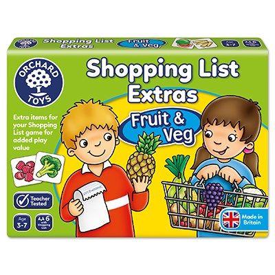 Orchard Toys Shopping List Extras- Fruit & Veg